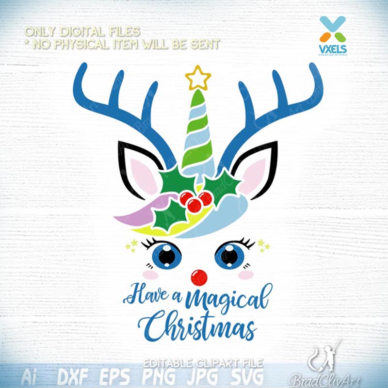 26+ Christmas Is Cancelled Reindeer Design Svg Dxf Eps Ai Jpg Png PNG