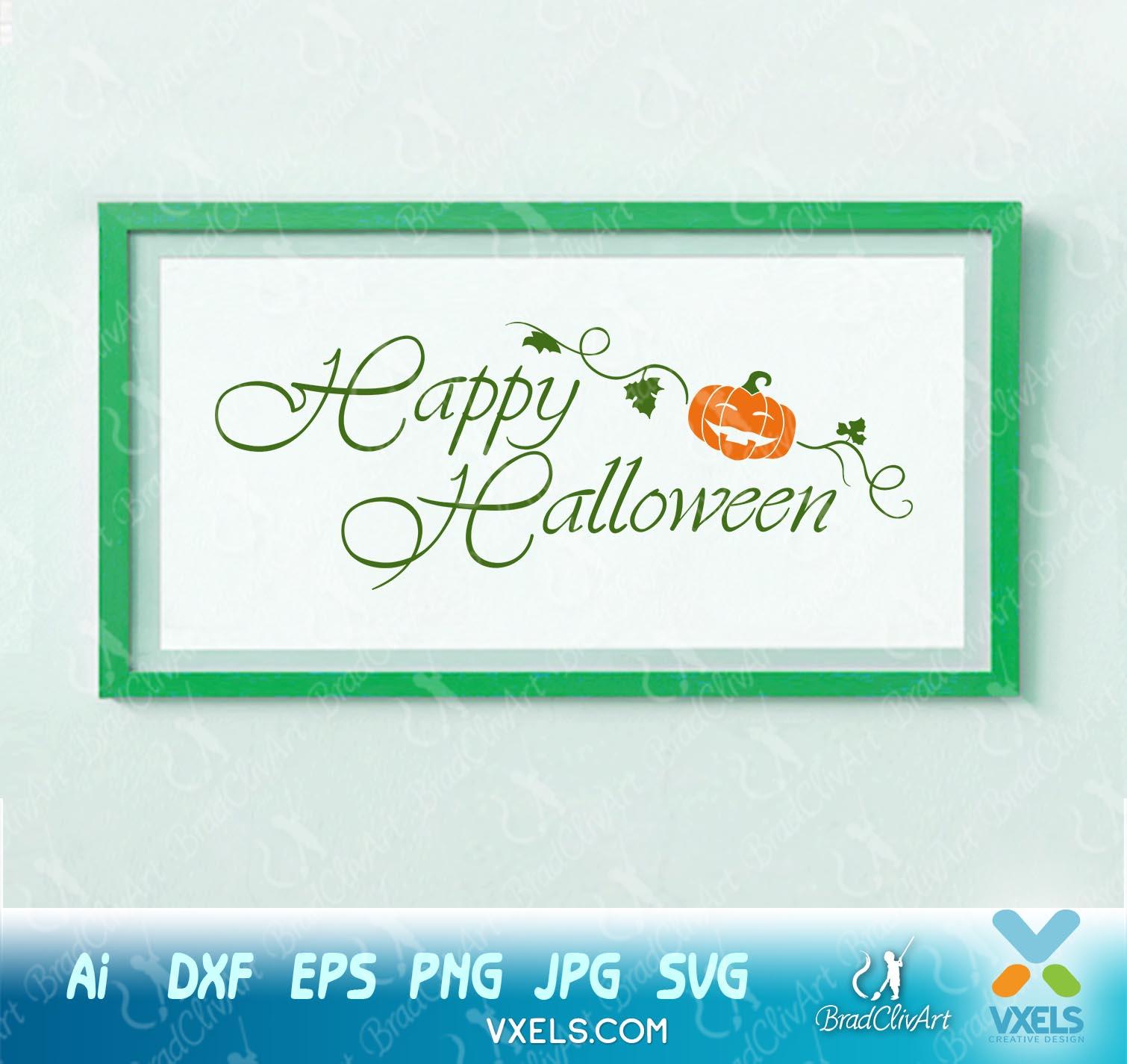 Download Happy Halloween – Svg Image