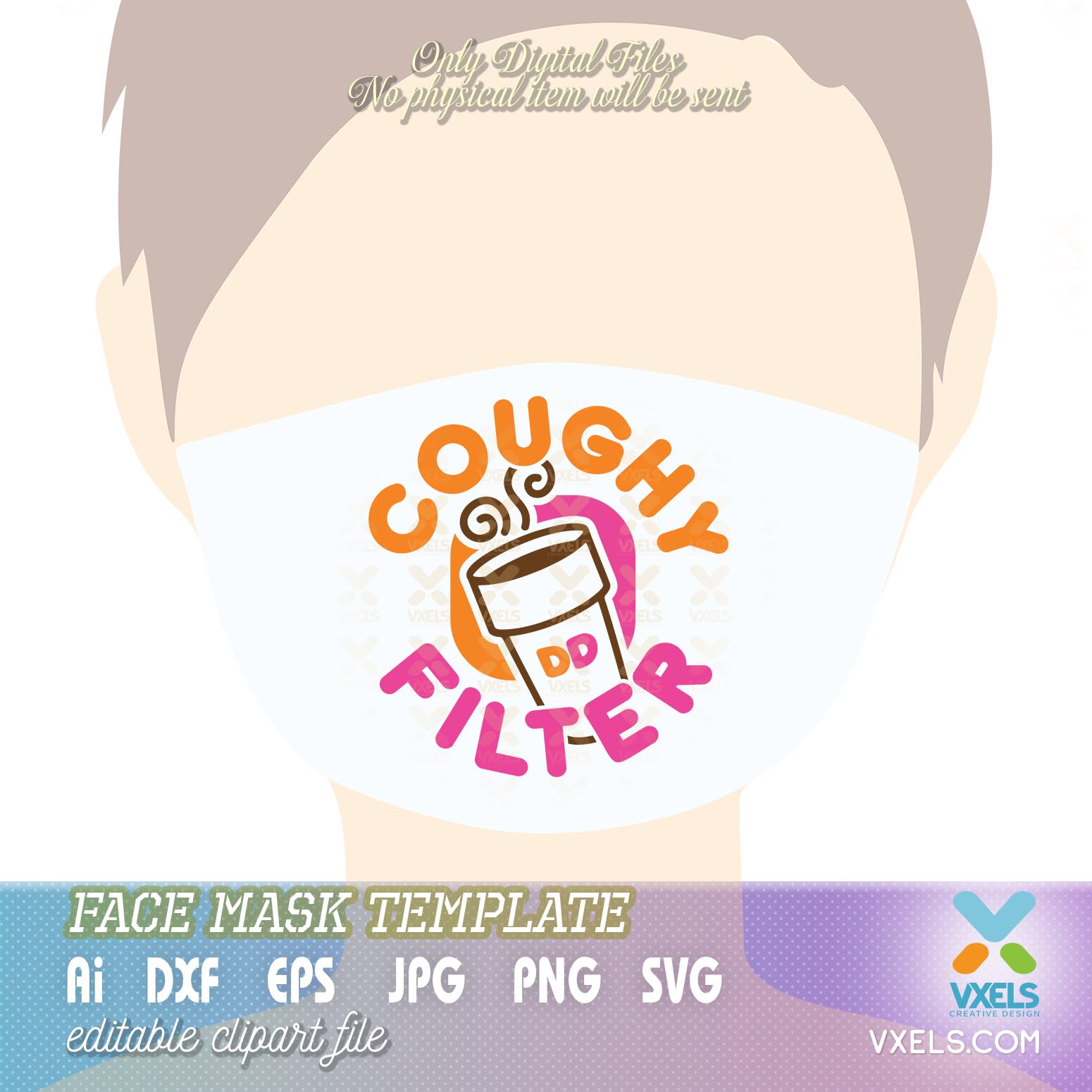 Coughy Filter DD Dunkin Donuts SVG for Coffee Clipart and ... (1550 x 1550 Pixel)